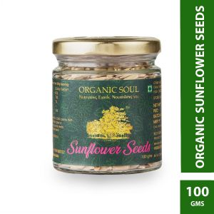 Organic Sunflower Seed | Raw Sunflower Seeds for Eating, Healthy Seeds | 100g